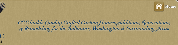 cgc, custom home builders, baltimore, maryland, md, dc